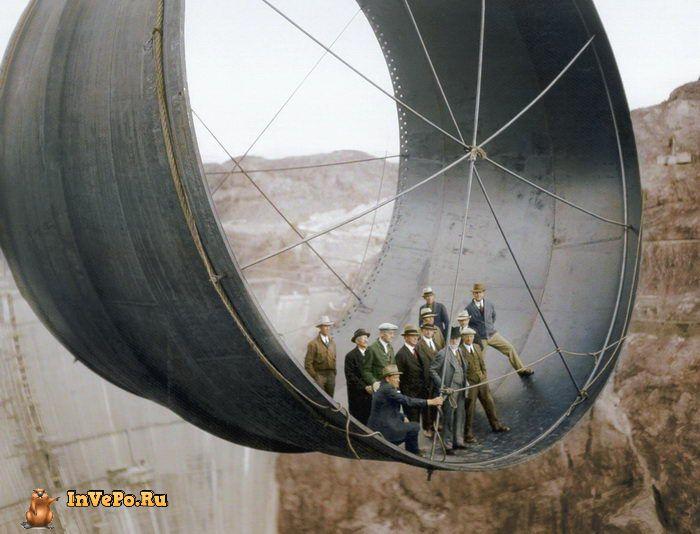 1935 год: перед открытием плотины Гувера.