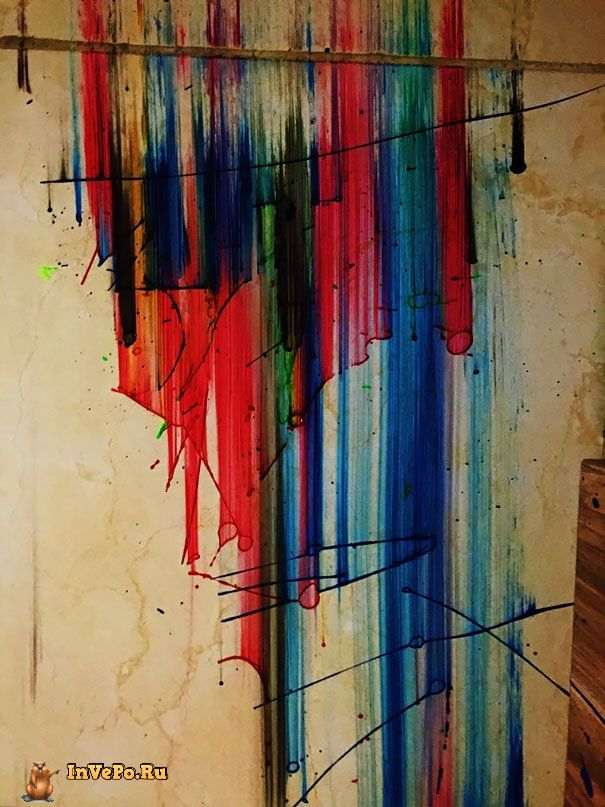 """""""Моя краска упала на пол и это выглядит лучше, чем всё, что я рисовал до этого"""""""