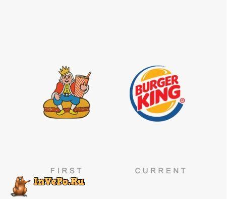 50 Известных компаний и их Логотипы Тогда и Сейчас