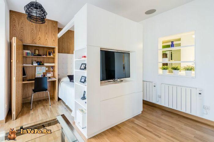 Интересные Функциональные решениями, для малогабаритной квартиры