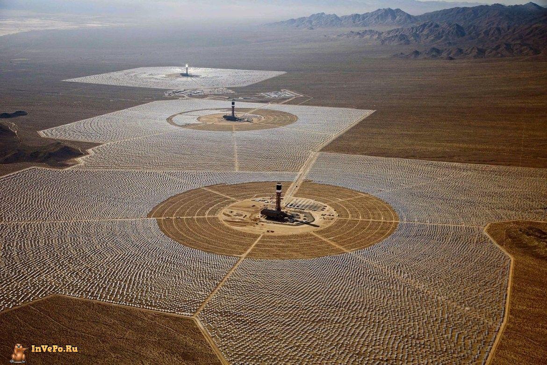 Крупнейшая в мире солнечная электростанция «Айванпа»