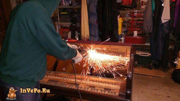 Винный Бар из старого пианино!