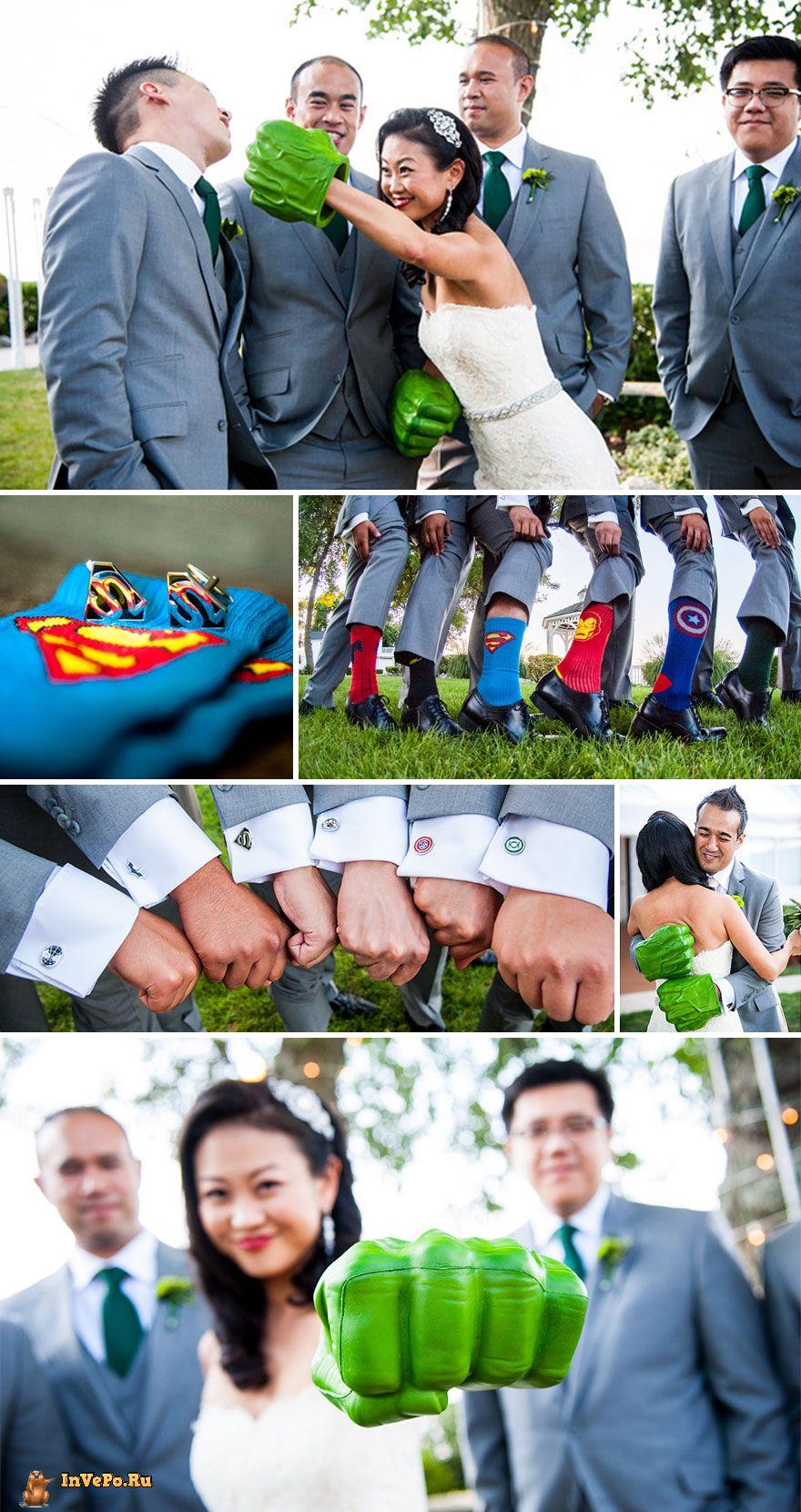 Свадьба супергероев Marvel