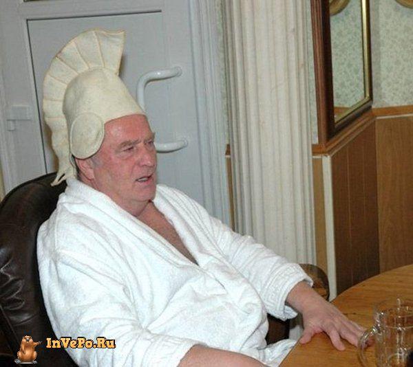 Банная шапка по чину