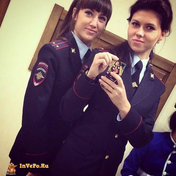 Фото девушки в форме милиции — photo 14