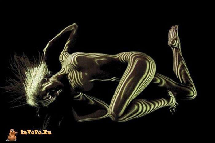 откровенном фотопроекте французского фотографа Дани Оливье