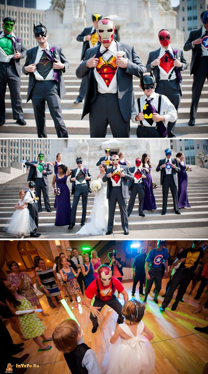 Свадьба супергероев
