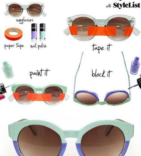 Как украсить солнцезащитные очки? 16 интересных способов