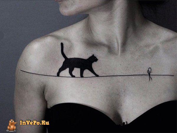 Blackwork боди-арт является новой тенденцией захватившей мир татуировки (25 фото)