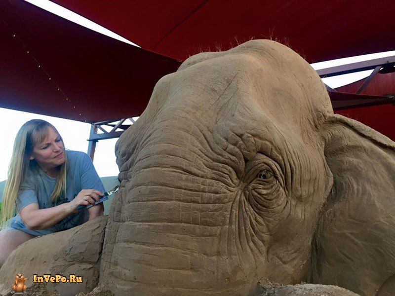 elephant-playing-chess-with-mouse-sand-sculpture-by-ray-villfane-and-sue-beatrice-5