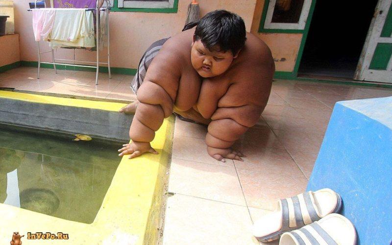 Самый толстый мальчик в мире весит 192 кг в 10 лет