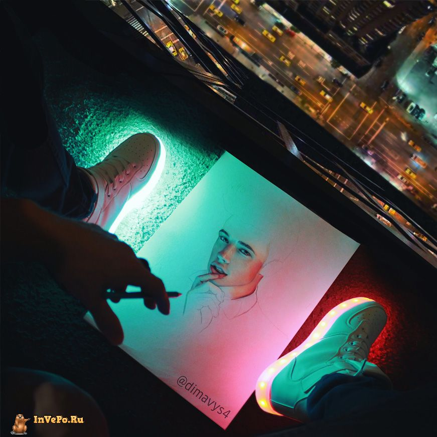 Фотореалистичные рисунки карандашом