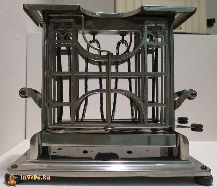 Первые тостеры умели поджаривать хлеб только с одной стороны
