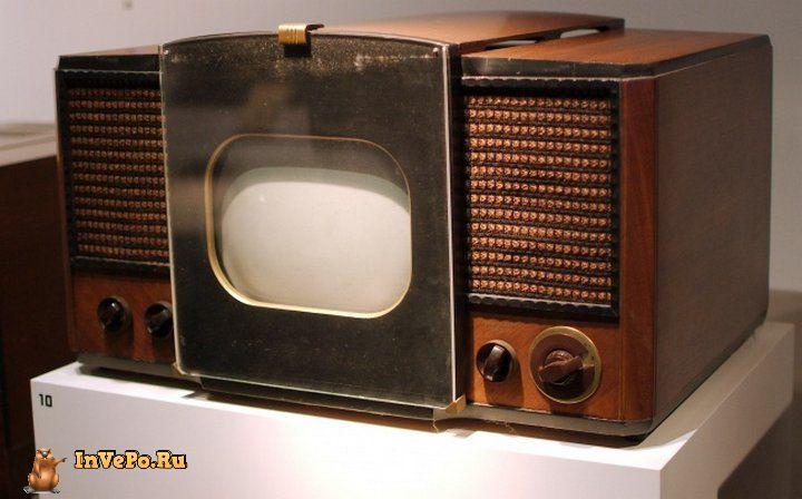 Это первый телевизор