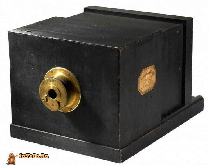 Первые дагерротипные фотоаппараты