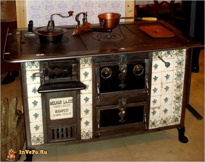 Кухонная плита 19 века