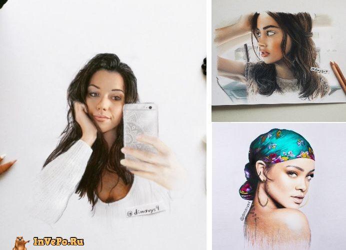 Фотореалистичные рисунки карандашом от 18-летнего художника