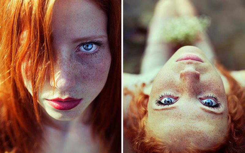 """Фотопроект : """"Огненная красота рыжеволосых девушек"""""""
