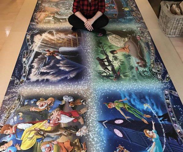 Датская студентка собрала «Самый большой в мире пазл» за 460 часов