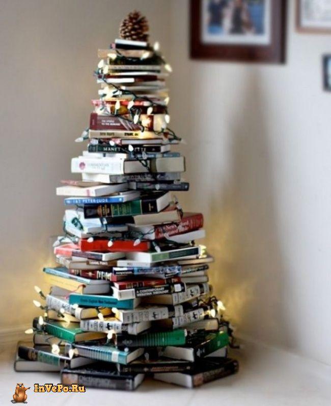 Новогодняя елка своими руками 20 альтернативных идей