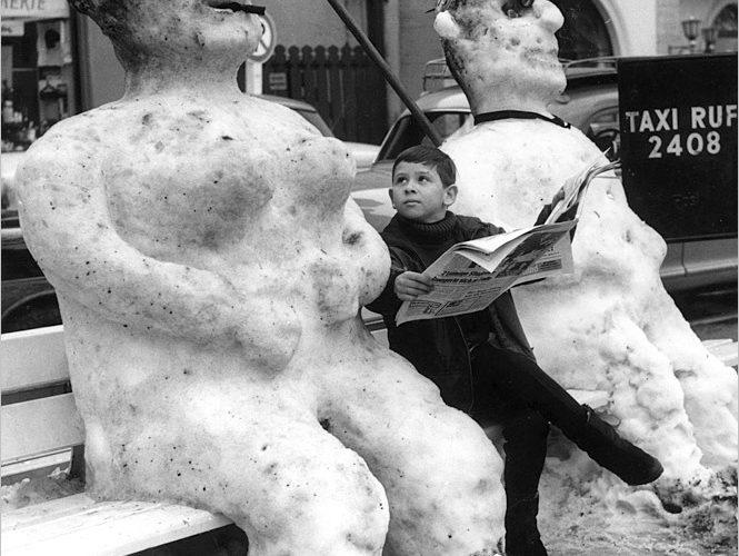 6 идей, которые помогут превратить снеговика в произведение искусства