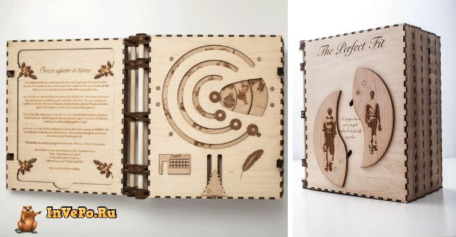Парень создал уникальную книгу-головоломку, чтобы сделать предложение