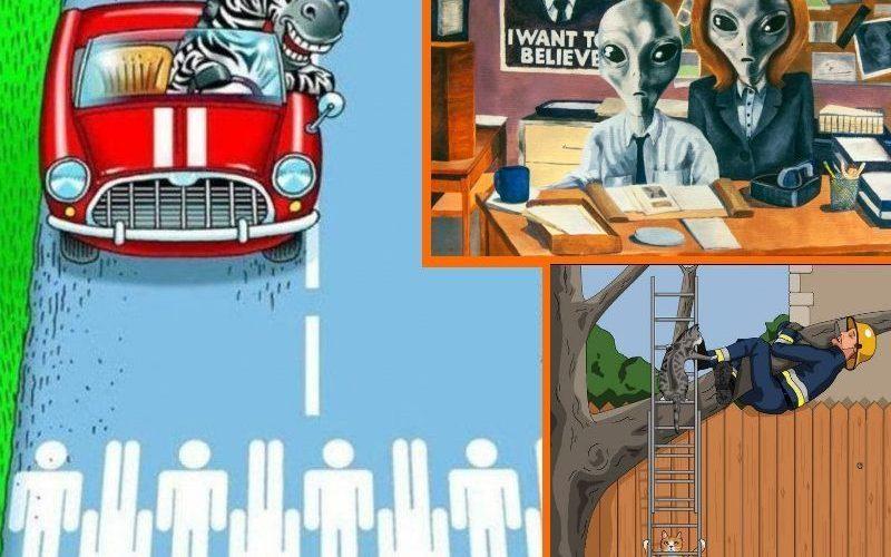 25 комиксов о жизни в параллельной вселенной