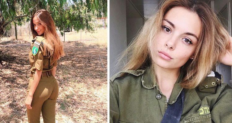 Очаровательные армейские девушки Израиля (31 фото)