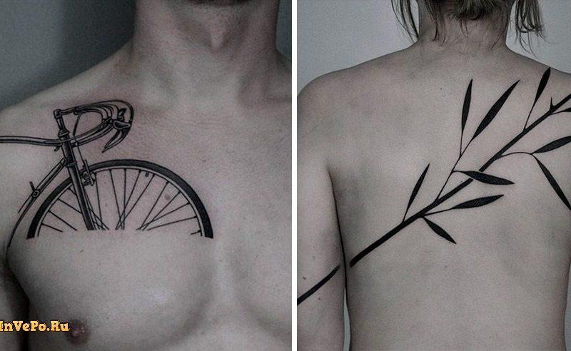 Белорусский мастер делает ошеломительные сюрреалистичные татуировки!