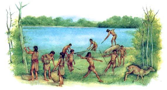 кочевого охотничье-собирательского сообщества