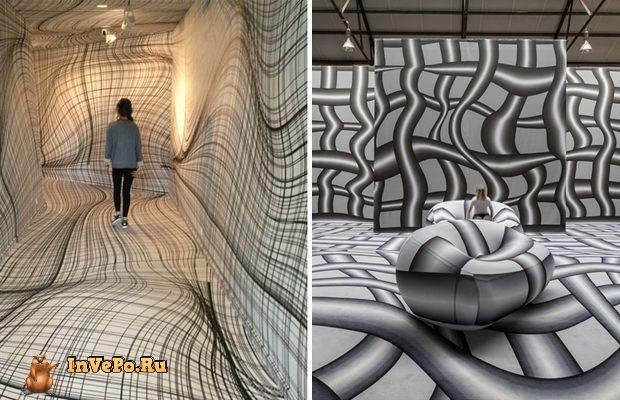 Оптические иллюзии от австрийского художника