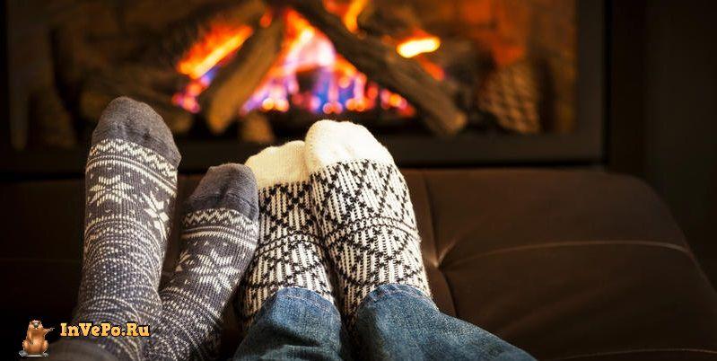 Эти способы помогут быстро согреть ноги и руку зимой