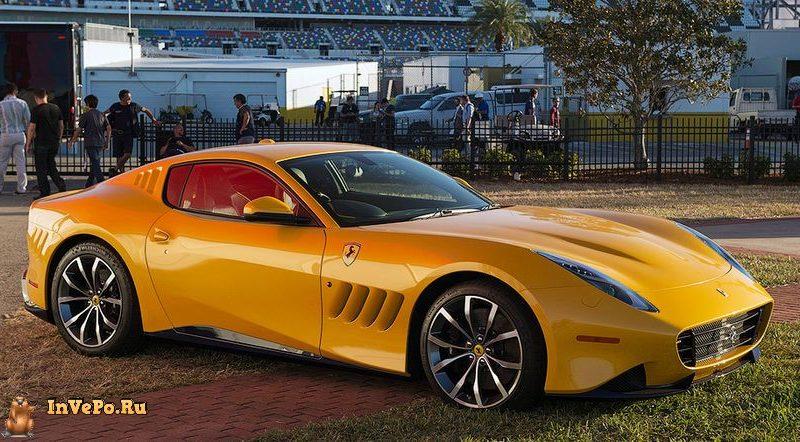 Этот уникальный суперкар Ferrari построен в единственном экземпляре