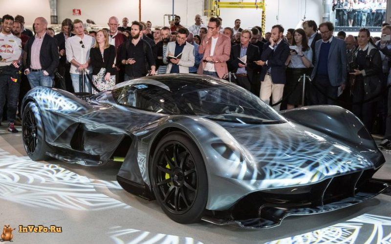 Гиперкар Aston Martin AM-RB 001 Новые впечатляющие подробности