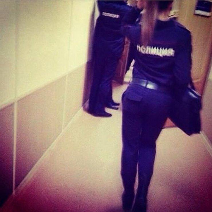 Красивые Девушки в форме Российской полиции.