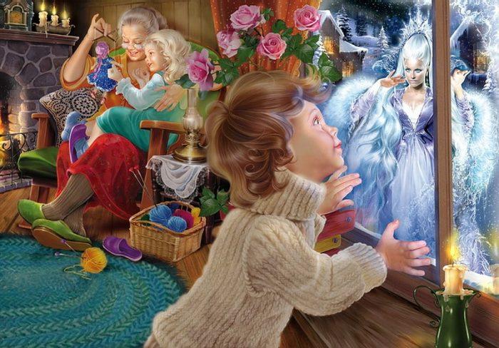волшебные иллюстрации Инны Кузубовой
