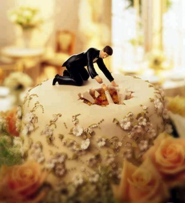 торт Спасение невесты