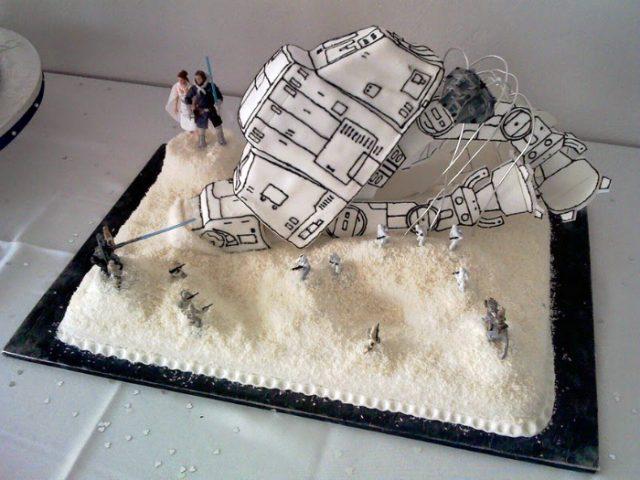Торт по достоинству оценят фанаты «Звездных войн»