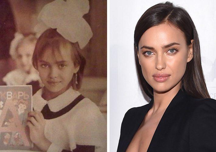 Знаменитые модели на детских снимках: 15 девчонок, покоривших мир (16 фото)