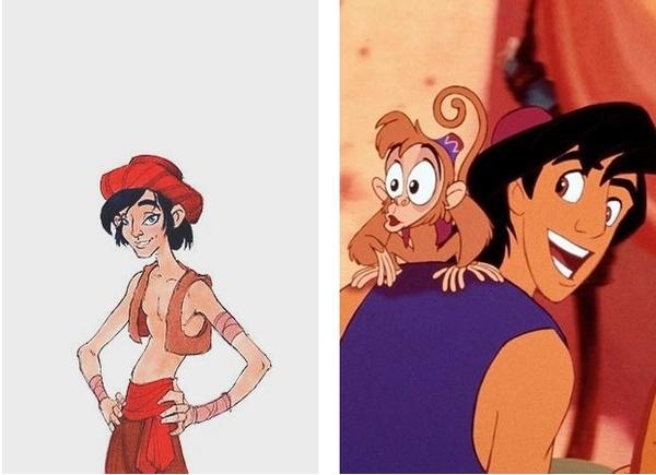 Как изначально выглядели известные персонажи фильмов