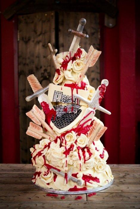 Свадебный торт «Игры престолов»