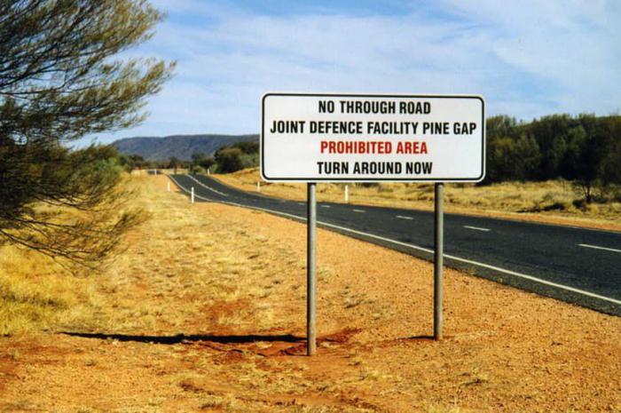 Пайн Гэп, Австралия