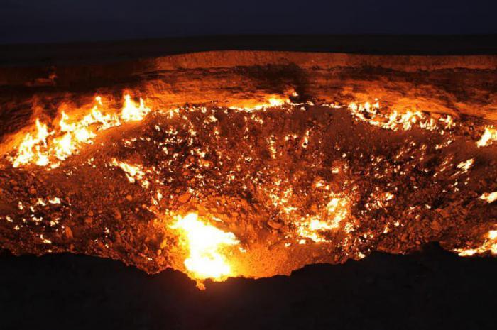Дверь в ад, Туркменистан