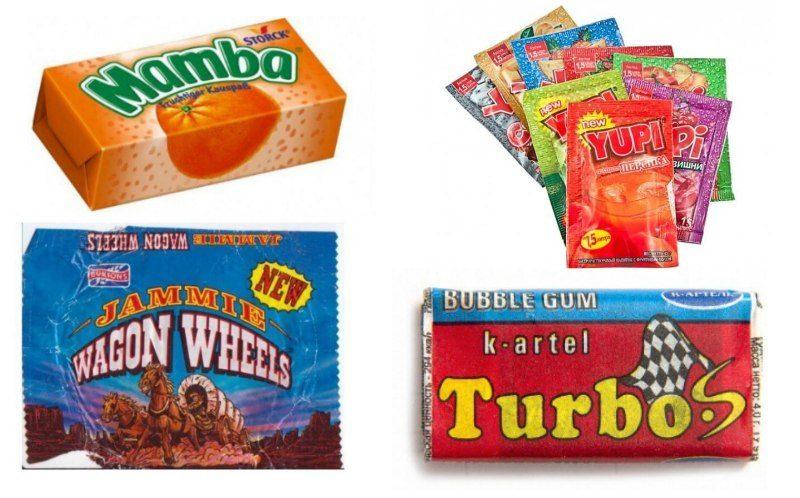 15 легендарных продуктов из далеких 90-ых
