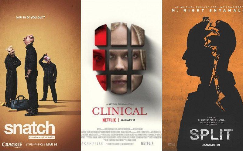 16 самых интересных постеров к фильмам и сериалам