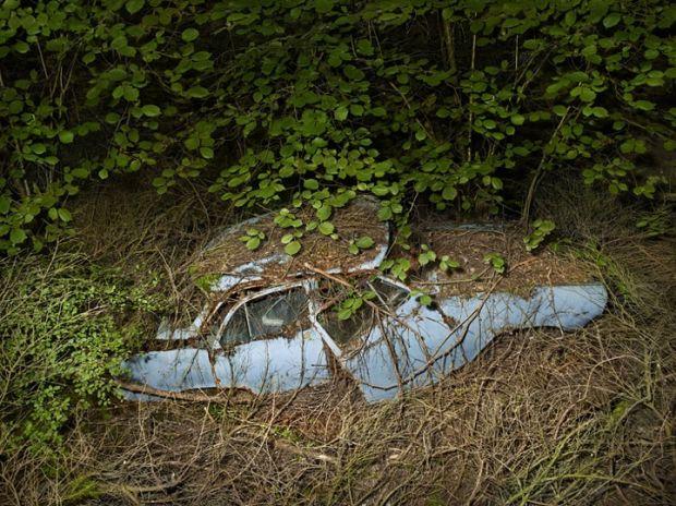 Фотографии брошенных автомобилей