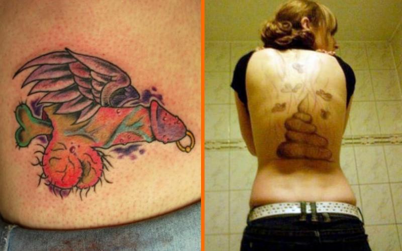 Самые неудачные татуировки
