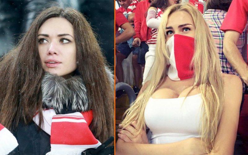 Самые красивые болельщицы российского футбола (10 фото)