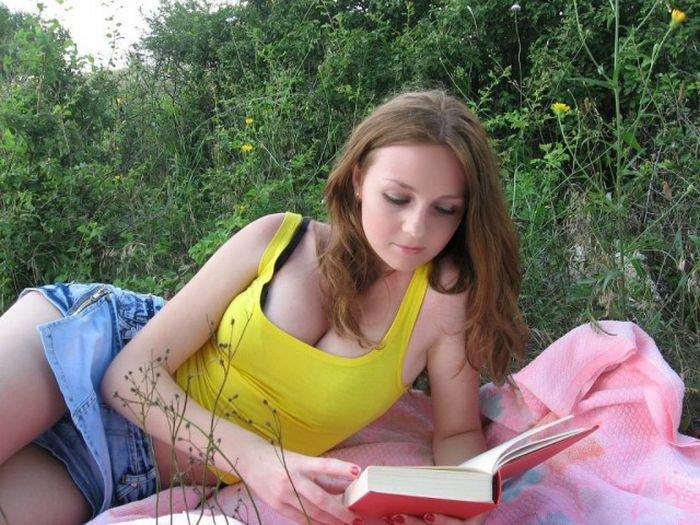 молодая девушка домашнее фото-уж2