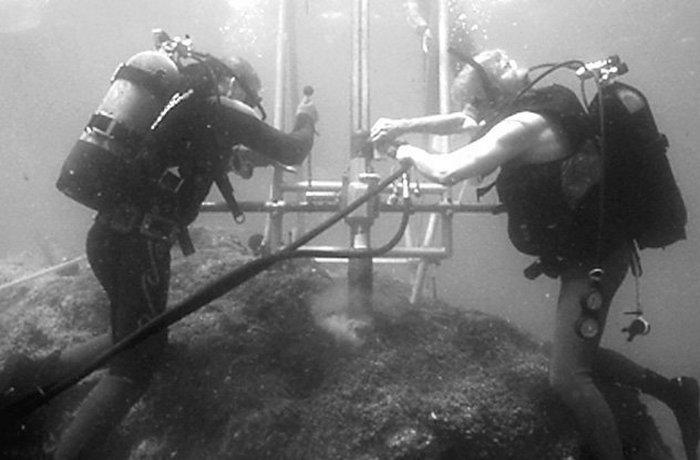 9. Подводный бетон